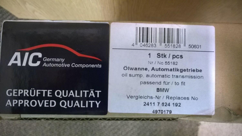 BMW autommaattivaihteiston öljypohja | mprengas.fi