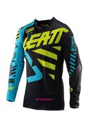 Leatt 2019 GPX 5.5 ultraweld black-lime paita